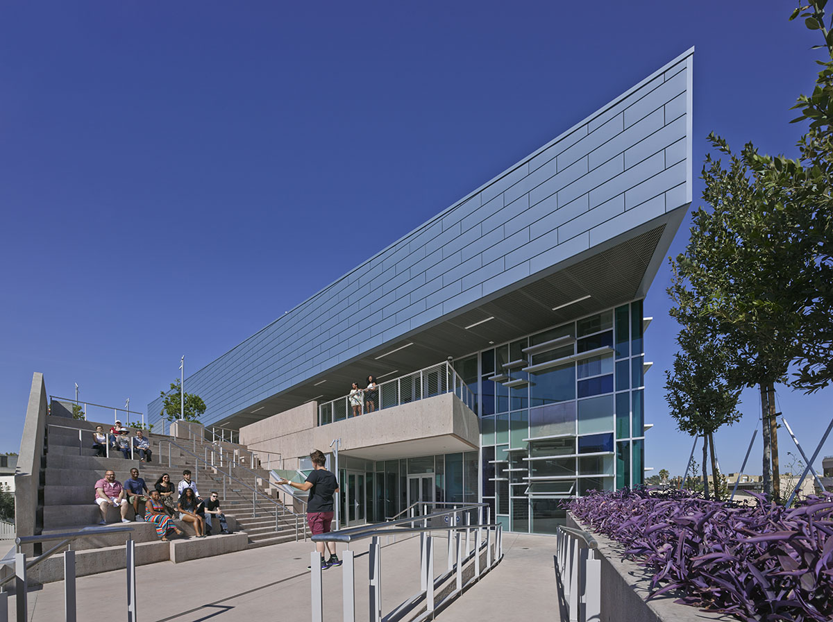 Los Angeles Community College Architectural Photography Los