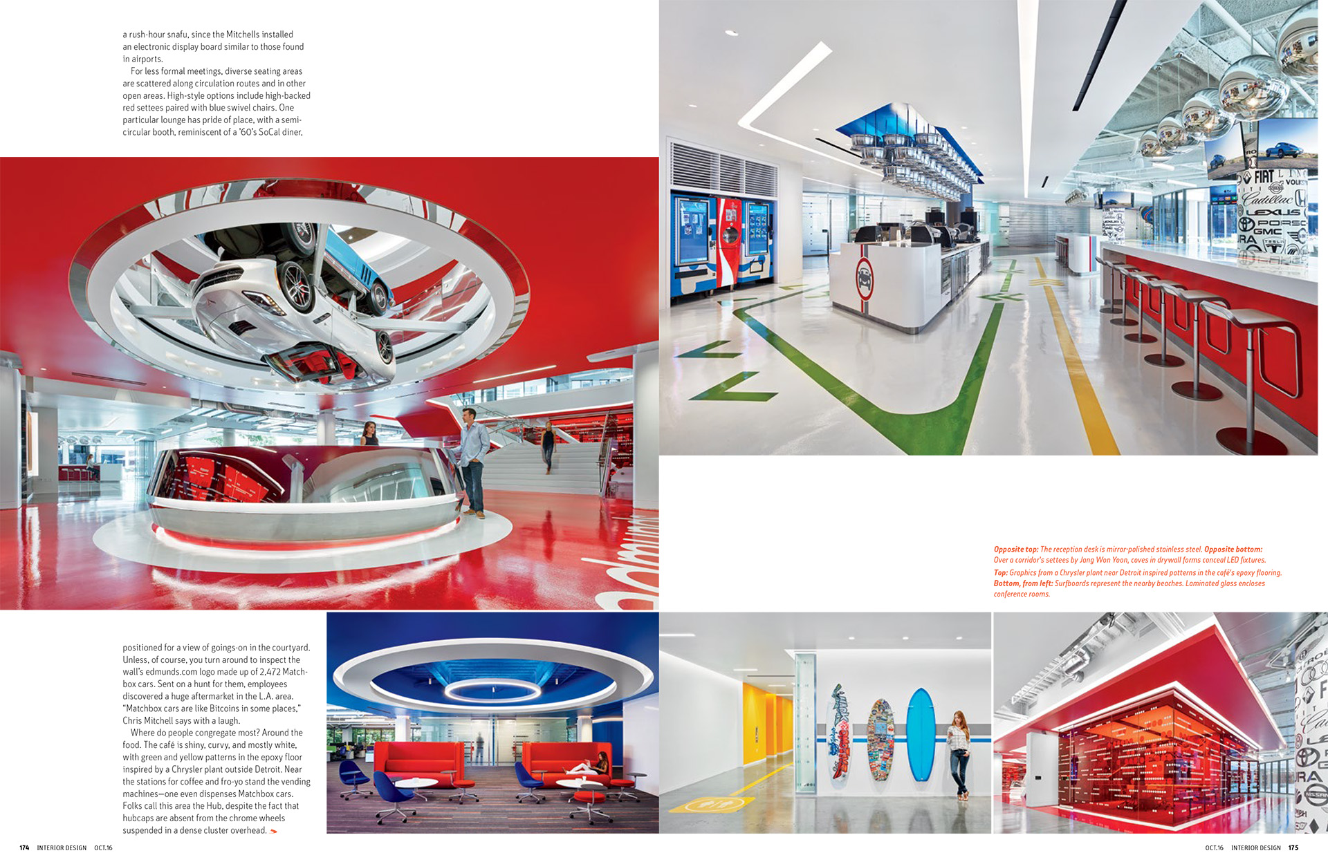 Interior Design Magazine, 10/2016 Publication in magazines  Edumunds_Part3