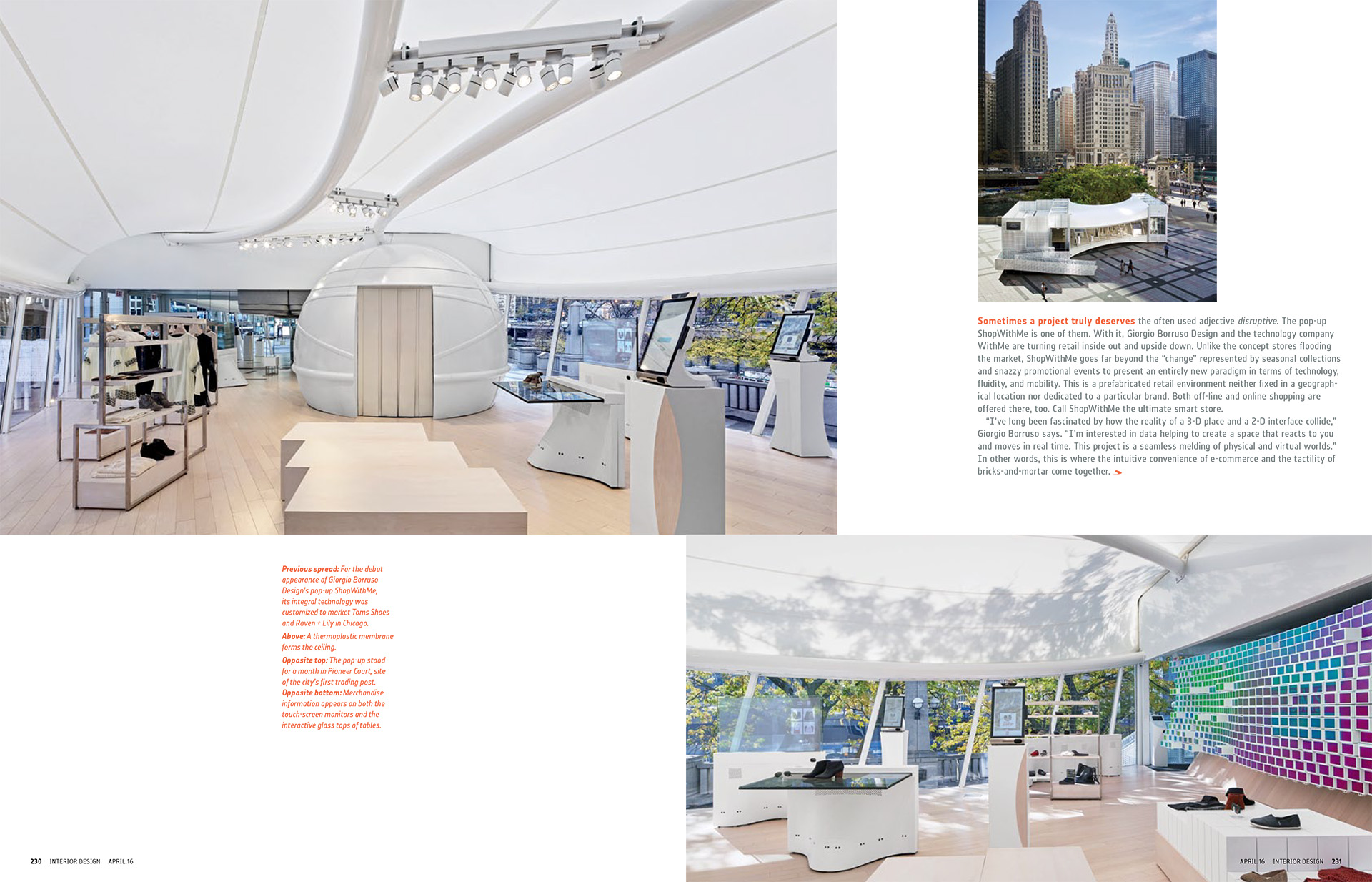 Interior Design Magazine, 4/2016 Publication in magazines  WithMePopUp-2