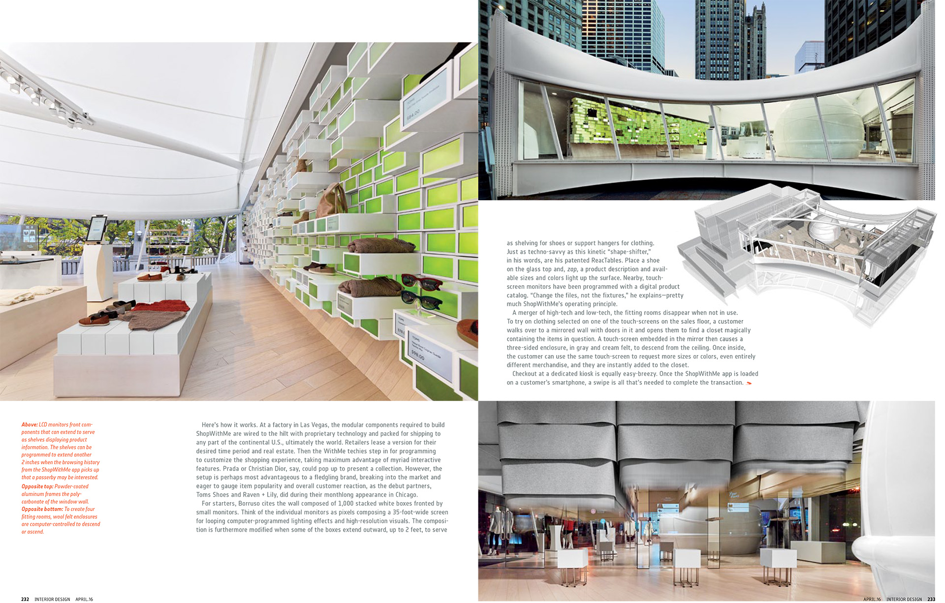 Interior Design Magazine, 4/2016 Publication in magazines  WithMePopUp-3